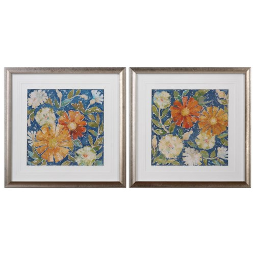 Uttermost Art April Flowers (Set of 2)