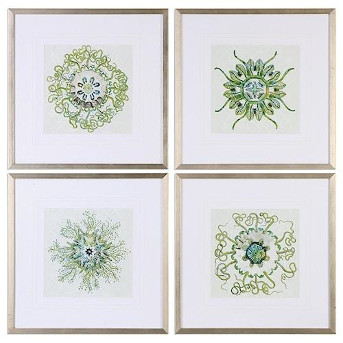 Uttermost Art Organic Symbols (Set of 4)