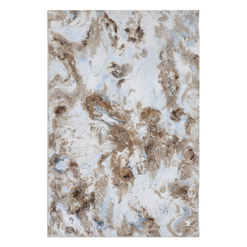Uttermost Art Dust Storm Abstract Art