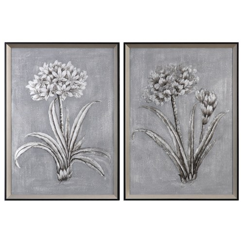 Uttermost Art Contemporary Botanicals (Set of 2)