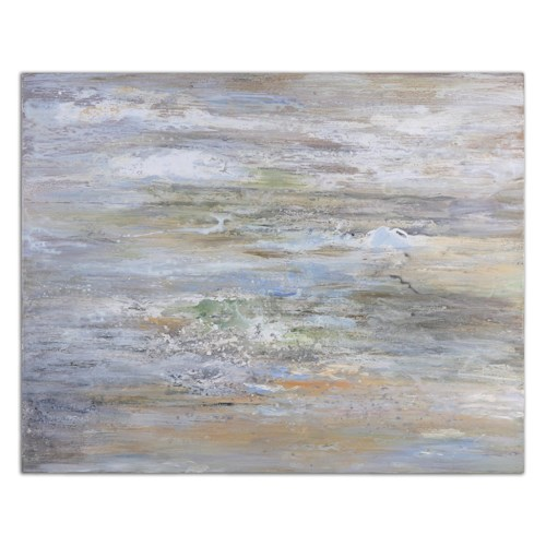 Uttermost Art Misty Morning Hand Painted Art