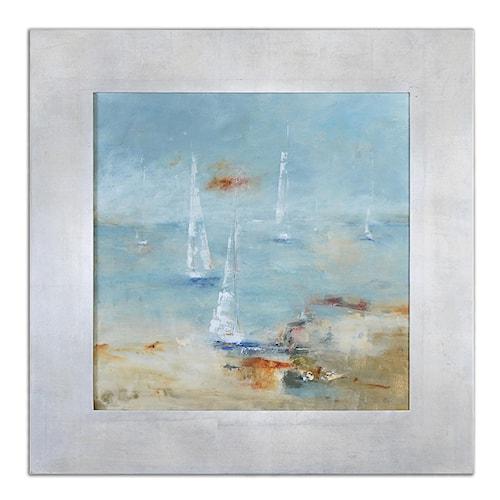 Uttermost Art Sail Time Framed Art