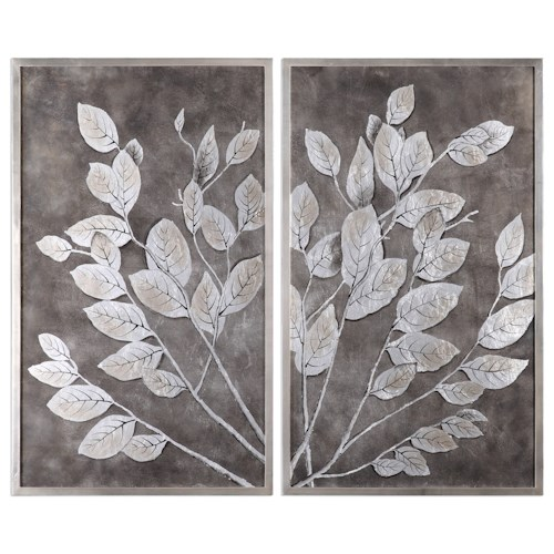 Uttermost Art Money Tree Framed Art S/2