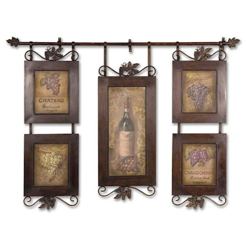 Uttermost Art Hanging Wine