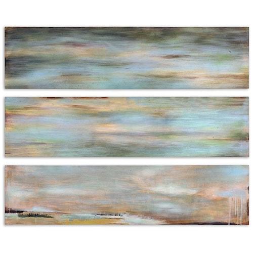 Uttermost Art Horizon View Panel Set of 3
