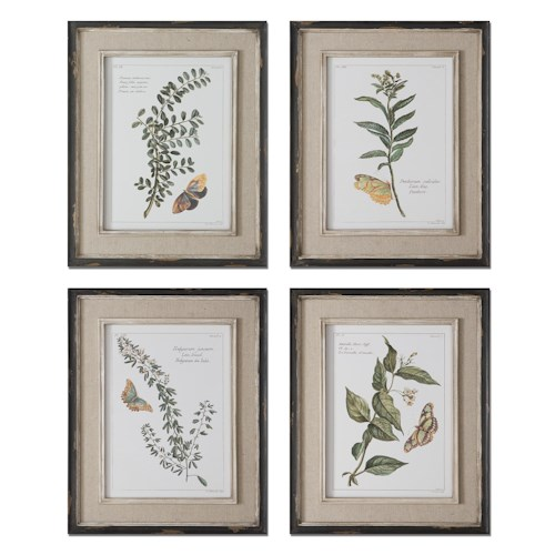 Uttermost Art Butterfly Plants