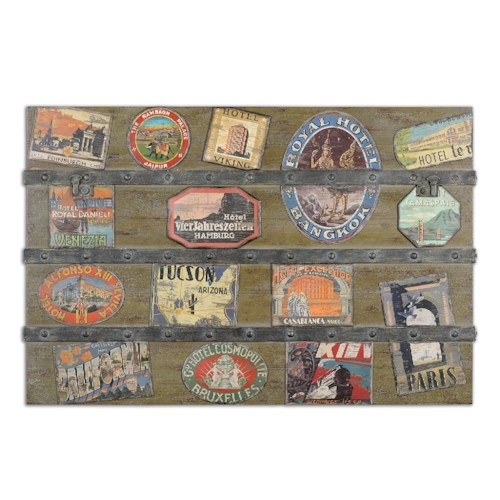 Uttermost Art International Trunk Wall Art