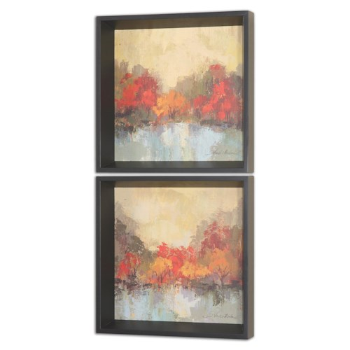 Uttermost Art Fall Riverside Wall Art Set of 2