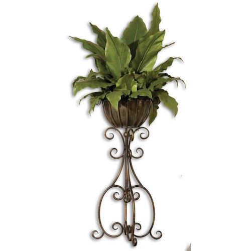 Uttermost Botanicals Costa Del Sol Potted Greenery