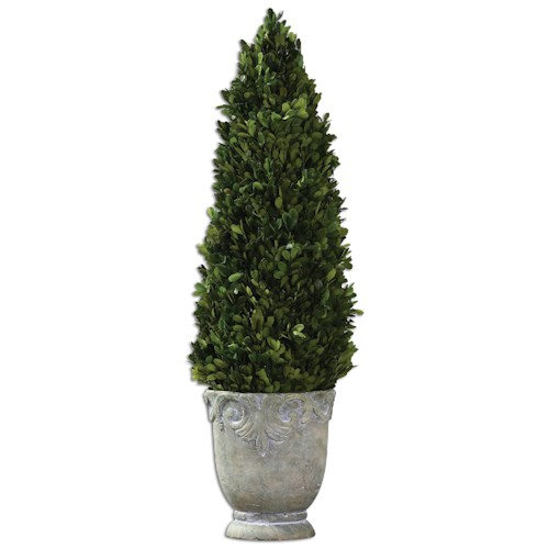 Uttermost Botanicals Boxwood Cone Topiary