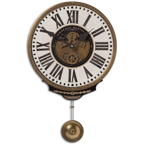 Uttermost Clocks Vincenzo Bartolini Cream Clock