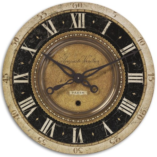 Uttermost Clocks Auguste Verdier Clock