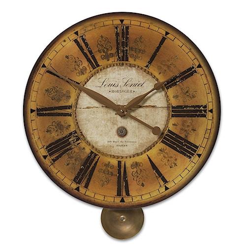 Uttermost Clocks Louis Leniel Clock