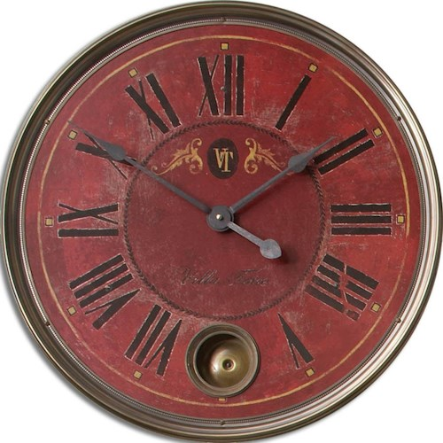 Uttermost Clocks Regency Villa Tesio Clock