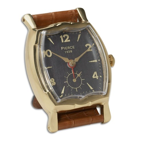 Uttermost Clocks Wristwatch Alarm Square Pierce Clock