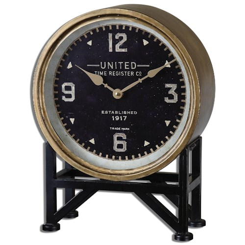 Uttermost Clocks Shyam Table Clocks