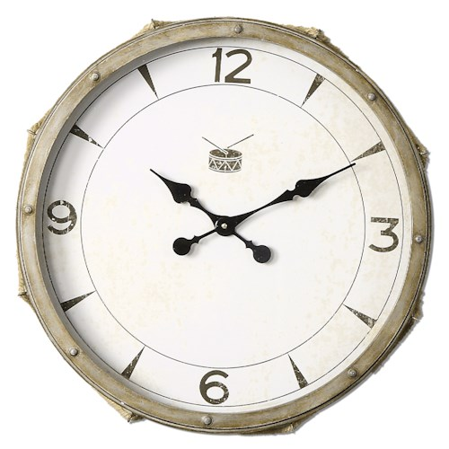Uttermost Clocks Rope Snare Clock