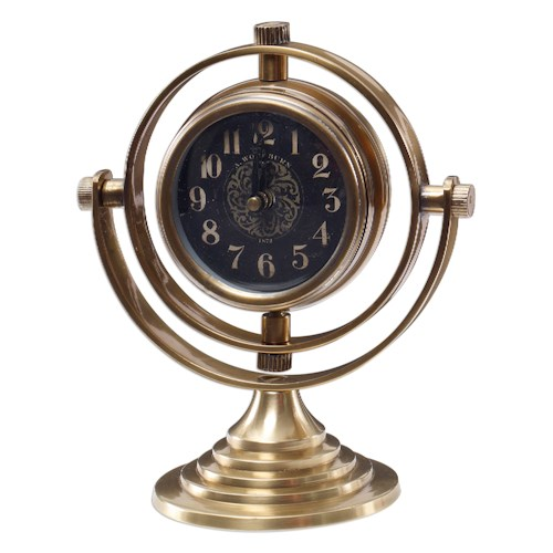 Uttermost Clocks Almonzo Table Clock