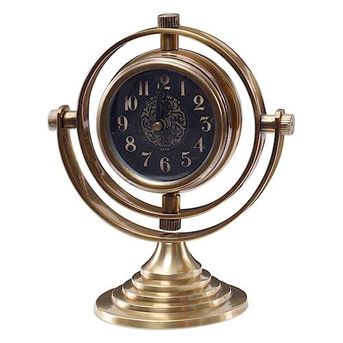 Uttermost Clocks Almonzo Table Clock