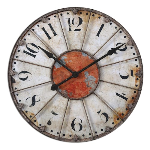 Uttermost Clocks Ellsworth Clock
