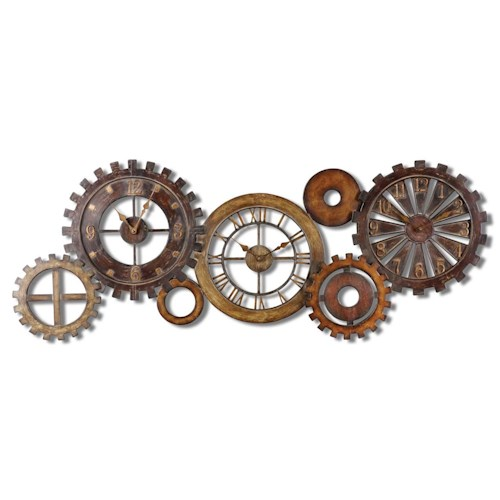 Uttermost Clocks Spare Parts Clock