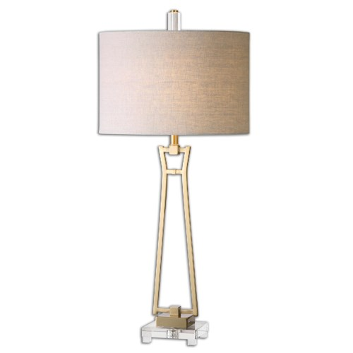 Uttermost Lamps Leonidas Gold Table Lamp