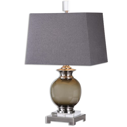 Uttermost Lamps Callias Olive-Gray Table Lamp