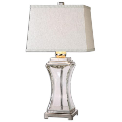 Uttermost Lamps Fulco Glass Table Lamp