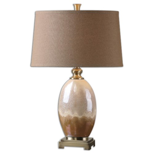 Uttermost Lamps Eadric Ceramic Table Lamp