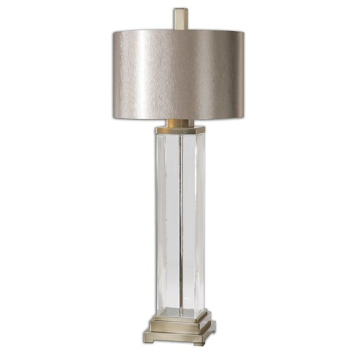 Uttermost Lamps Drustan Clear Glass Table Lamp