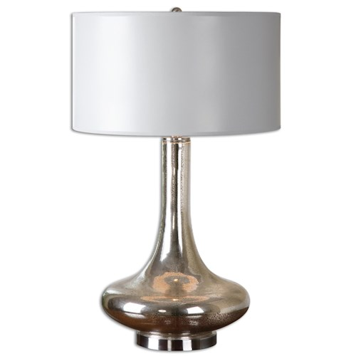 Uttermost Lamps Fabricius Mercury Glass Lamp