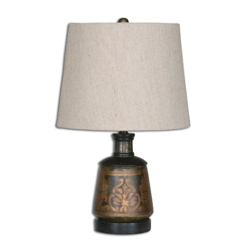 Uttermost Lamps Mela Hand Painted Lamp