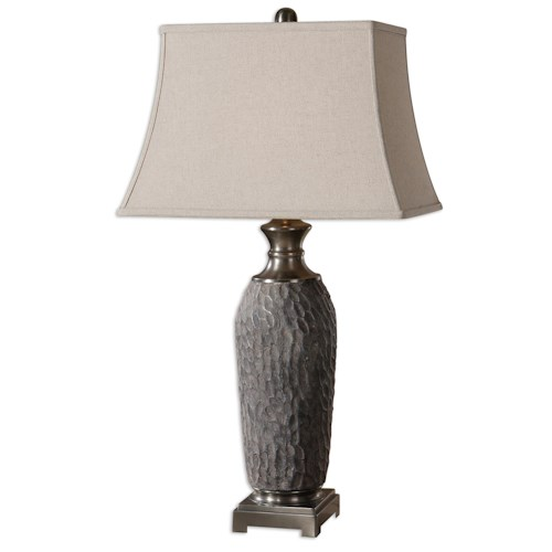 Uttermost Lamps Tricarico Textured Lamp
