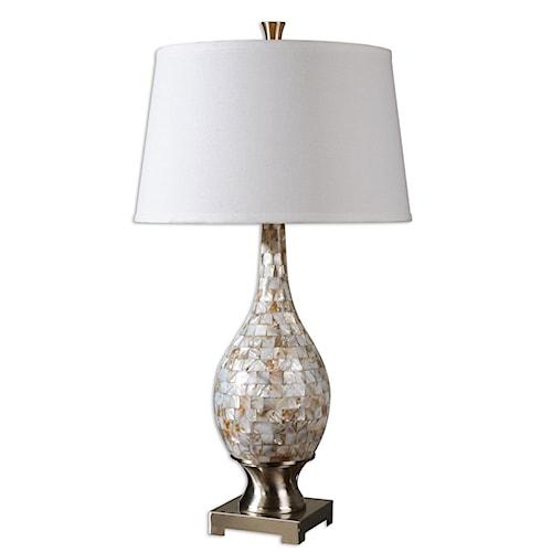 Uttermost Lamps Madre Mosaic Tile Lamp