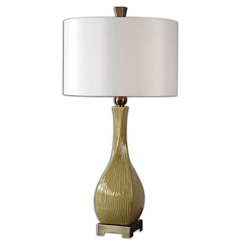 Uttermost Lamps Valsinni Ceramic Table Lamp