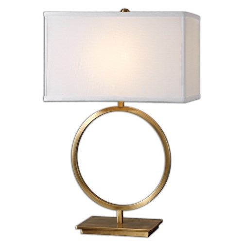 Uttermost Lamps Duara Circle Table Lamp