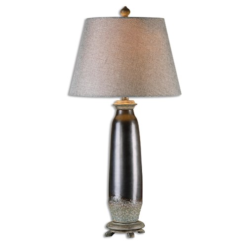 Uttermost Lamps Diona Dark Bronze Table Lamp