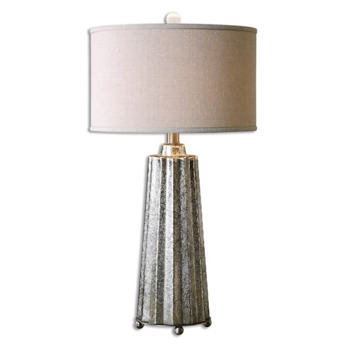 Uttermost Lamps Sullivan Mercury Glass Table Lamp