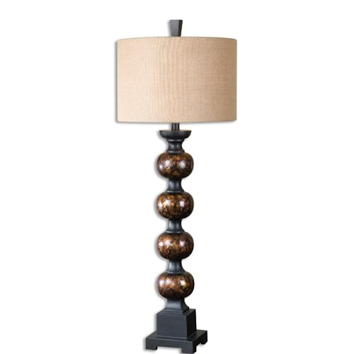 Uttermost Lamps Massadona Stacked Spheres Buffet Lamp