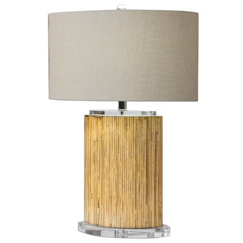 Uttermost Lamps Lurago Bamboo Table Lamp