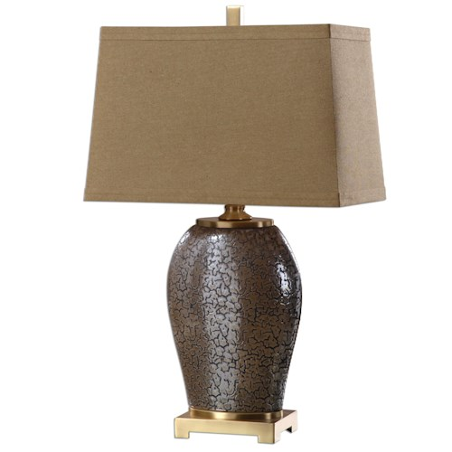 Uttermost Lamps Veniano Bronze Lamp