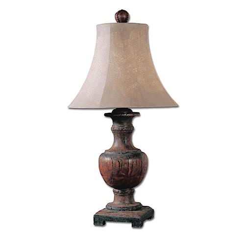 Uttermost Lamps Woodman Dark