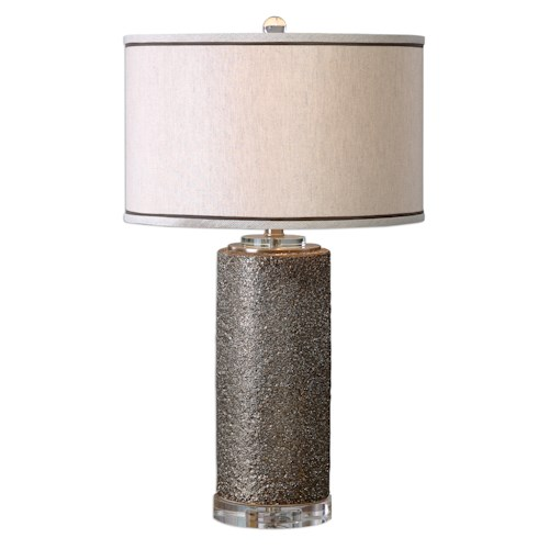 Uttermost Lamps Varaita Metallic Bronze Table Lamp