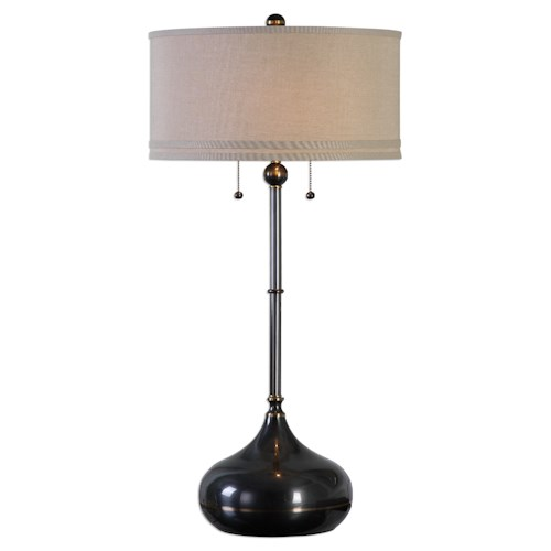 Uttermost Lamps Dounia Dark Bronze Table Lamp