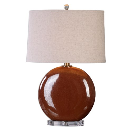 Uttermost Lamps Alento Rust Bronze Table Lamp