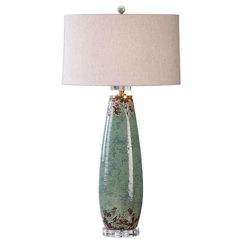 Uttermost Lamps Rovasenda Mint Green Table Lamp