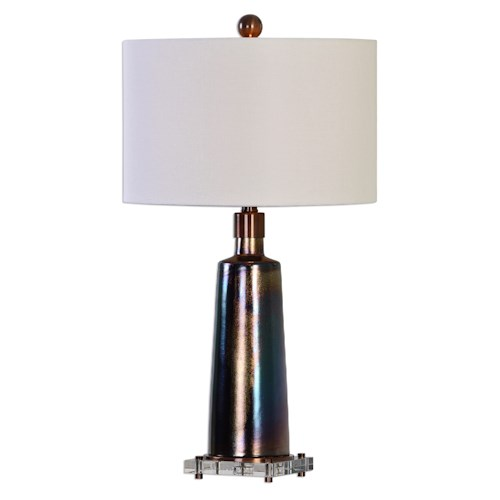 Uttermost Lamps Raciti Dark Bronze Table Lamp