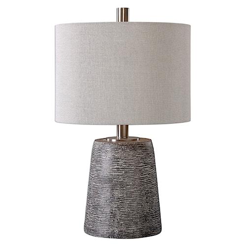 Uttermost Lamps Duron Bronze Ceramic Lamp