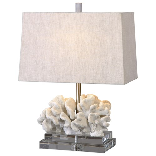 Uttermost Lamps Coral Sculpture Table Lamp