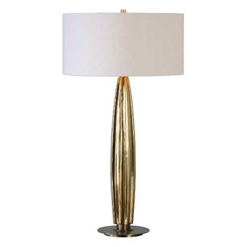 Uttermost Lamps Bremner Gold Table Lamp
